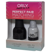 Orly Perfect Pair Matching Lacquer and Gel Duo Kit, Liquid Vinyl