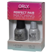Orly Perfect Pair Matching Lacquer and Gel Duo Kit, Tiara