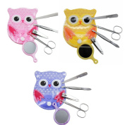 Spove Owl Design Personal Care Manicure Set 5 in 1