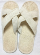 Criss Cross Loofah Spa Slippers
