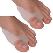 HiiBaby®2 x Silicone Gel Toes Cushion Pad Bunion Protector Toe Separator Bunion Splints Hallux Valgus Toes Care Novelty Gel Bunion Protectors