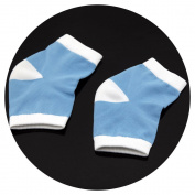 1 Pair Gel Heel Socks for Dry Hard Cracked Skin Moisturising Open Toe Comfy Recovery Socks