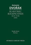 Slavonic Rhapsodies, Op.45 / B.86