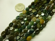 8x10mm Oval Gemstone Beads Strand 15.5 Inch Jewellery Making Beads