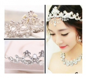 Rhinestone Bridal Accessories Set Wedding Accessories Bridal Headpieces