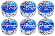Just for Laughs Designer Mini Duct Tape 6 Pack