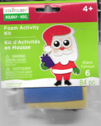 "Creatology Foam Activity Kit ""Santa"" 84 Pieces"