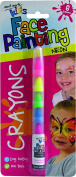 Mont Marte Kids Face Painting Crayons - Let the kids get creative - Neon
