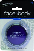 Mont Marte Premium Face and Body Paint 21g - Cosmetic Quality in Compact with Lid - Purple