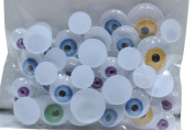 60 Count Crafter's Square Wiggle Monster Eyes