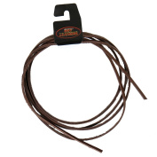 Leather Lace 180cm x 0.3cm Lacing String BROWN