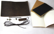 Midori Travellers journal Refillable Genuine Leather Notebook DIY material Kit style3