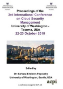 Iccsm 2015 - The Proceedings of the 3rd International Conference on Cloud Security and Management