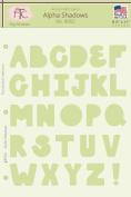 Fairytale Creations Alpha Shadows Alphabet Stencil, 22cm L x 28cm H
