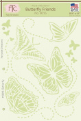 Fairytale Creations Butterfly Friends Stencil, 22cm L X 28cm H