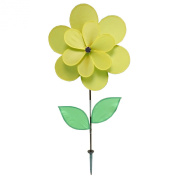Gardener's Select Double Petal Pin Wheel, 46cm by 46cm , Yellow