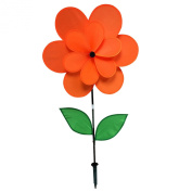 Gardener's Select Double Petal Pin Wheel, 46cm by 70cm , Orange