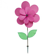 Gardener's Select Double Petal Pin Wheel, 46cm by 70cm , Fuchsia