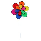 Gardener's Select 12 Petal Pin Wheel, 46cm by 70cm , Multicolor