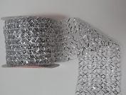 Gift Wrap Mesh Ribbons - Christmas Colours 2.7m (6.4cm X 270cm ) 1 Roll
