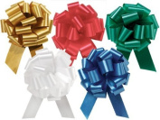 Blue Pull Bow - 6.4cm Ribbon with 14 Loops - 2 pack