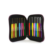 Riverbyland Multi-colour Crochet Hooks Knitting For Beginners Set Of 16