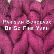 Kristin Omdahl Yarns Be So Fine Bamboo Yarn Parisian Bordeaux