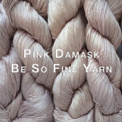Kristin Omdahl Yarns Be So Fine Bamboo Yarn Pink Damask