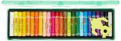 Camlin Kokuyo Oil Pastel Crayons Colour 25 Shades Assorted Colours Plastic Box