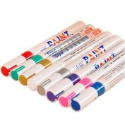 KitMax (TM) Pack of 8 Pcs Cute Novelty Colourful DIY Decorative Graffiti Paint Pen Office School Supplies Students Children Gift