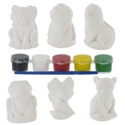 Plaster Animals You Paint It! Value PackNew by