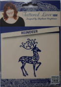 Tattered Lace Die ~ Reindeer, 5.6cm x 9.4cm ~ TTLD116