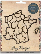 Find It Trading France Amy Design Map Die