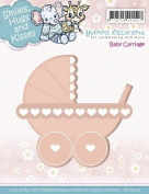 Find It Trading Baby Carriage Yvonne Creations Smiles Hugs & Kisses Die