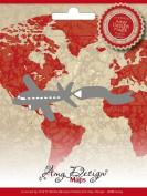 Find It Trading Aeroplane Amy Design Map Die