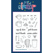Your Next Stamp Clear Stamps 10cm x 15cm Cup Of Cheer