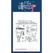 Your Next Stamp Clear Stamps 10cm x 10cm Sprinkles - Spreading Christmas Cheer