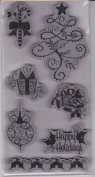 Christmas Cling Stamps Christmas Happy Holidays