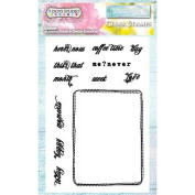 7 Dots Studio Verano Azul Clear Stamp Set