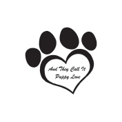 Gourmet Rubber Stamps Cling Stamps 8.6cm x 17cm And They Call It Puppy Love