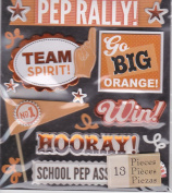 Pep Rally Graduation Stickers - K & company Life's Little Occasions High School