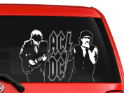 AC DC Rock band Australia on stage nice silhouette artwork car truck laptop macbook decal sticker 25cm white