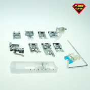 Super More 11 Pcs Sewing Low Shank Snap-on Foot Kit