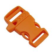 "Bluemoona 20 PCS - Side Release Buckle Plastic Paracord webbing strap 19mm (3/4"")"