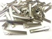 50 x 46mm Crocodile Clip Hair Comb Pin Clip Finding Accessory