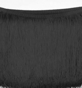 BLACK CHAINETTE FRINGE