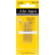 Brand New Chenille Hand Needles-Size 20 6/Pkg