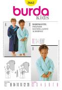 Burda Craft Sewing Pattern 2662 - Bathrobe Sizes