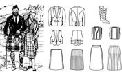 Folkwear Scottish Kilts #152 Sewing Pattern