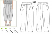 Style Arc Sewing Pattern - Ethel Designer Pant (Sizes 04-16) - Click for Other Sizes Available